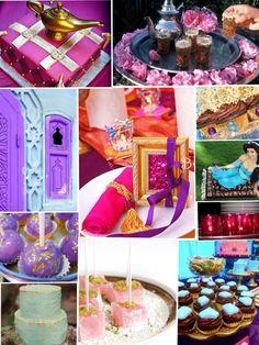 Arabian princess party