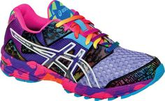 Asics Gel Noosa--like a colorful party on your feet when you run shoes, fit, women gelnoosa, style, color, women asic, asic gelnoosa, gelnoosa tri, running