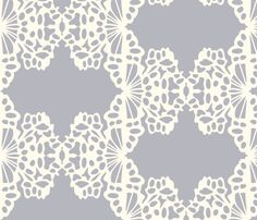 Lace fabric by bryony on Spoonflower - custom fabric