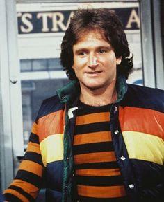 "Robin Williams as Mork -- ""Shazbot""  /  ""Nanu-Nanu"""