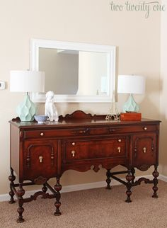 Modernly styled 1920s buffet