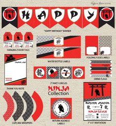 Ninja Birthday Party Ideas for Boys