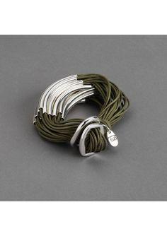 style, wrap bracelets, moregreen twist, bracelet silver