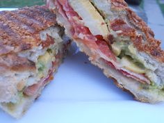 bacon, tomato and guacamole grilled cheese!!