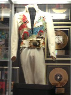 Elvis' jumpsuit @ Graceland