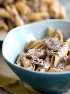 Recipe for Penne Rigate with Mushrooms, Leeks & Sausage | DeLallo Recipes