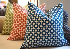celerie kemble navy blue indigo betwixt pillow cover