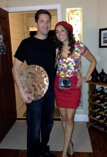 Gumball Machine & Quarter Costume