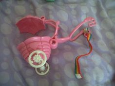 vintage 1980's my little pony carriage