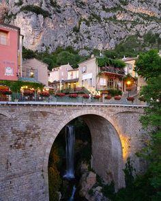 Moustiers Saint Marie, Provence, France