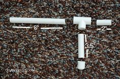 diy Mini Marshmallow Gun from PVC pipe - I like the idea to decorate it with colorful duck tape!