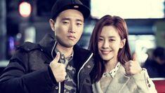 Gary and Song Ji Hyo