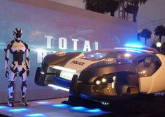 Total Recall (2012) hover car