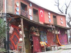 Shops in Istanbul.