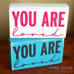 You Are Loved Blocks