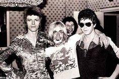 David Bowie + Iggy Pop + Lou Reed