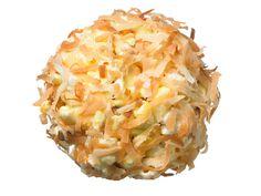 Coconut-Almond Popcorn Balls from FoodNetwork.com