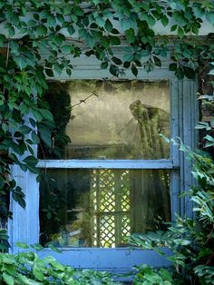 My Little Blue Window by Trish Mayo on Flickr