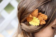 Leather Feather Headband   DIY