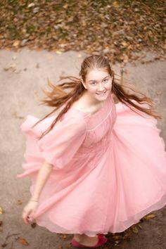 Ahhhhh! Liesl's dancing dress