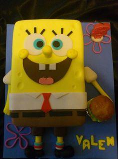 Torta Bob Esponja Spongebob cake