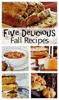 Five Delicious Fall Recipes