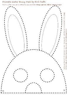 FREEBIE: Printable Easter Bunny Masks