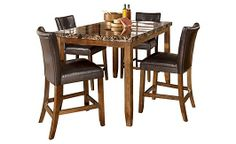 Dining room on pinterest counter height table dining for Dining room tables 36 x 54