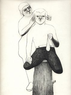 Lovely drawing by Camilla Engman.