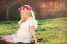 Boho Maternity Pics. LOVE!