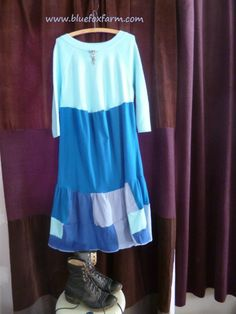 Hillbilly Dresses - I bet you won't be able to stop at one...my favorite way to upcycle pre-loved t-shirts...