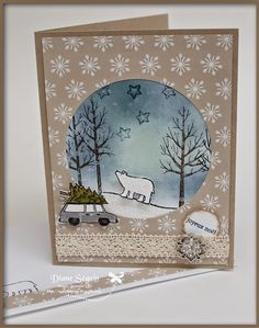 Stamp White Christmas Stampin'Up!