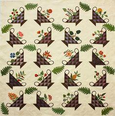 quilt appliqu, quilt patterns, ancien quilt, antique quilts, basket quilt