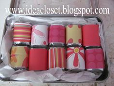 Idea Closet: Secret Sister Gifts
