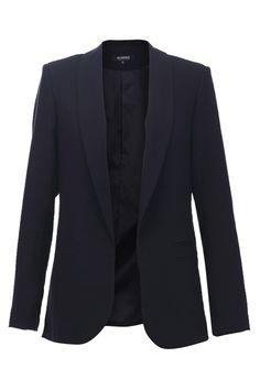 Basic Black Casual Blazer