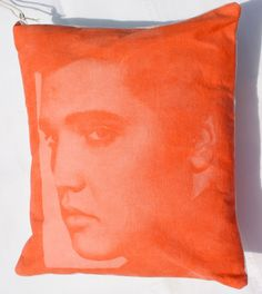 #DIY Elvis photo pillow made with Inkodye from @Lumi | Inkodye available at Joann.com