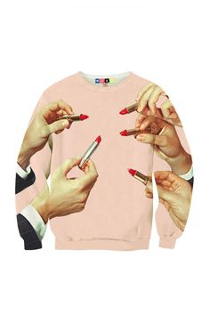 Lipstick Sweatshirt - MSGM and Toilet Paper