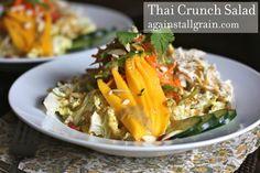 Thai Crunch Salad - Against All Grain