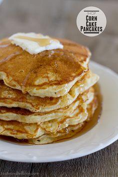 IHOP Corn Cake Pancakes
