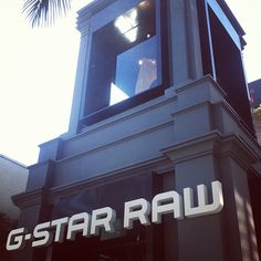 Now open on Rodeo Drive: G-Star Raw!