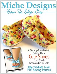 doll shoes patterns, sew, girls bows, doll clothes patterns, american doll shoes, american girl doll shoes diy, bow ties, 18 inch doll diy, american girls