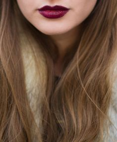 dark lips for fall