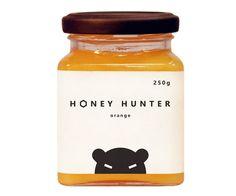 Cute honey packaging.