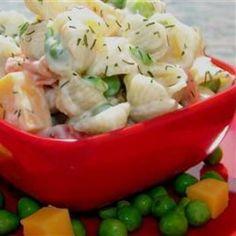 Spring Sweet Pea Pasta Salad