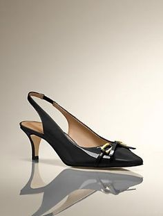 Heels for the Office fashion work, slingback pump, woman fashion, talbot, link slingback, the office, heel, dayla bow, shoe