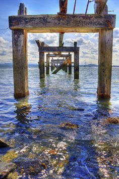 Aberdour Pier, Scotland