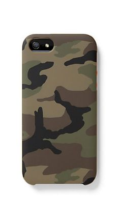 Camouflage iPhone Case. Chic.