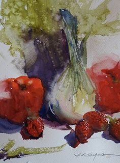 Ordinary Moments by Sandy Strohschein Watercolor ~ 12 x 9