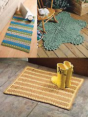 Easy Crochet Rugs - Electronic Download