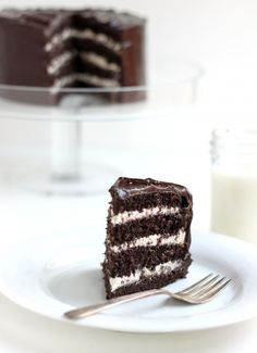 Salted Caramel Buttercream Chocolate Cake
